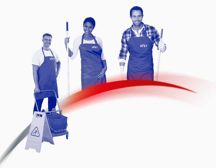ONET - líder del sector Limpieza y soluciones de servicio - Servicios de limpieza profesional