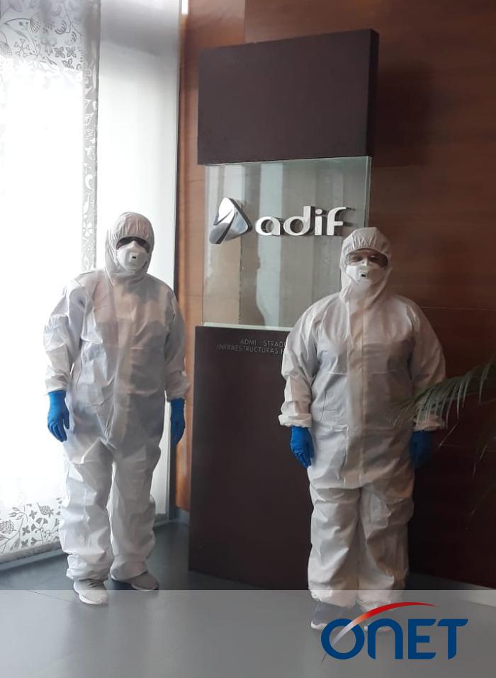 Adif - Onet desinfeción